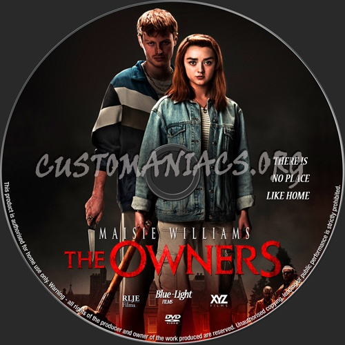 The Owners dvd label