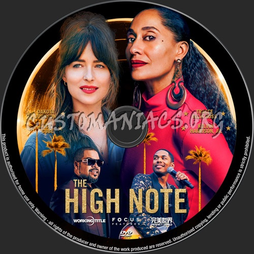 The High Note dvd label
