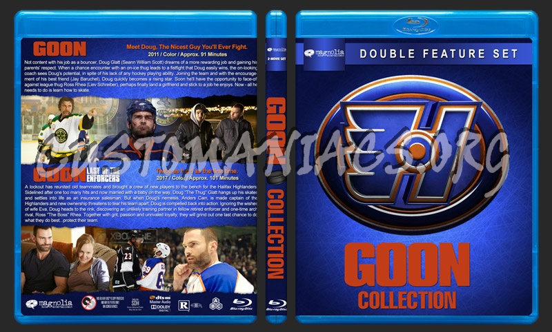 Goon Collection blu-ray cover