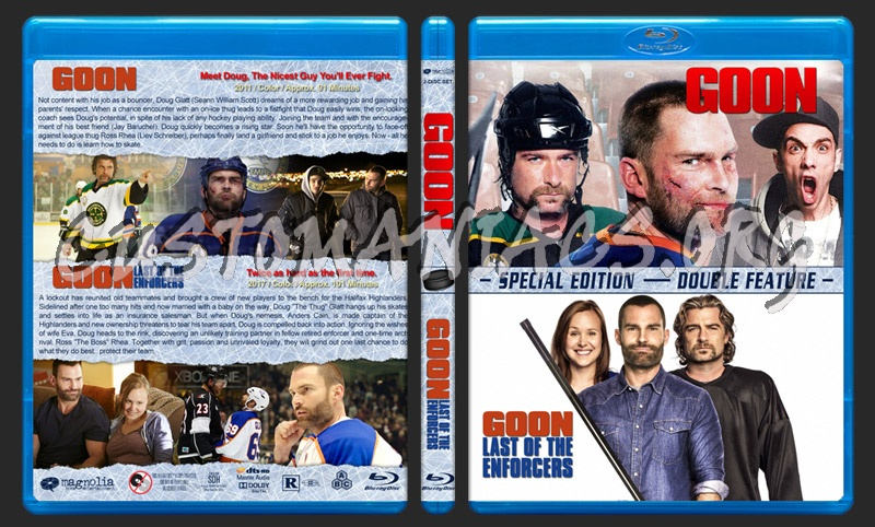 Goon Double Feature blu-ray cover