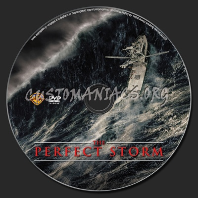 The Perfect Storm dvd label