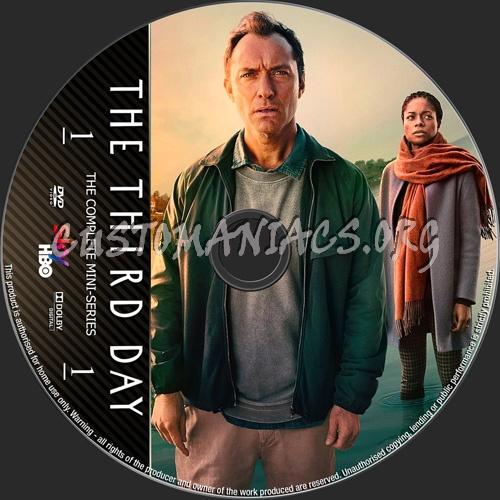The Third Day Mini-Series dvd label
