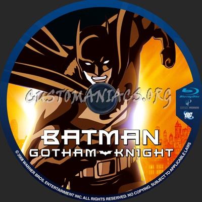 Batman Gotham Knight blu-ray label