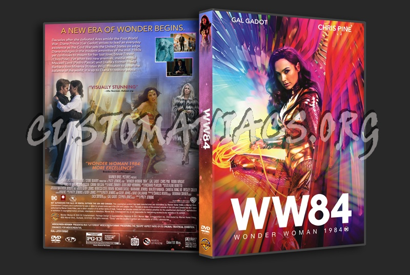 Wonder Woman 1984 dvd cover