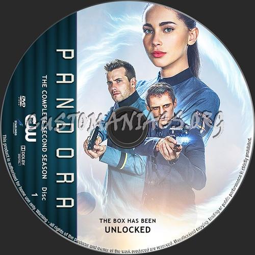 Pandora Season 2 dvd label