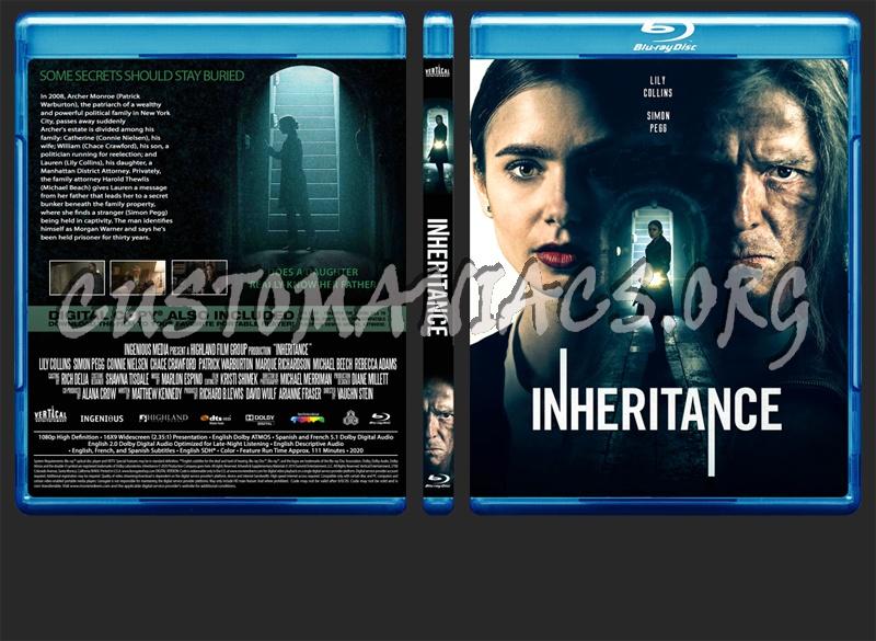 Inheritance blu-ray cover