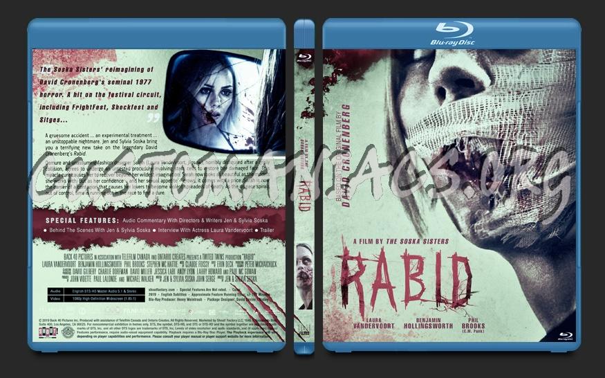 Rabid (2019) blu-ray cover