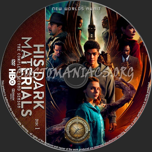 His Dark Materials Season 2 dvd label