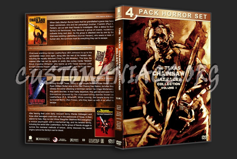 The Texas Chainsaw Massacre Collection - Volume 1 dvd cover