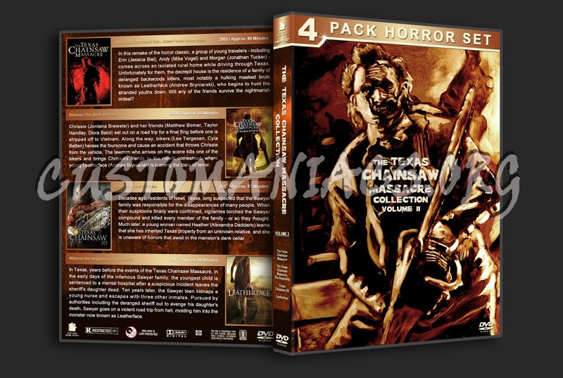 The Texas Chainsaw Massacre Collection - Volume 2 dvd cover