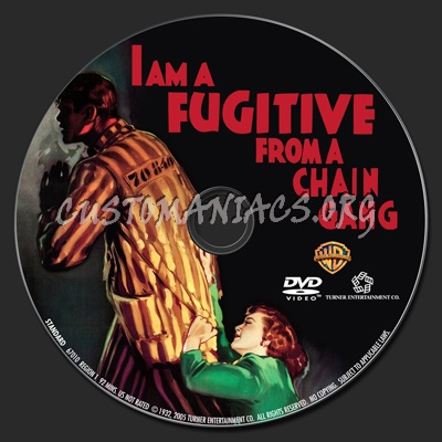 I Am a Fugitive from a Chain Gang dvd label