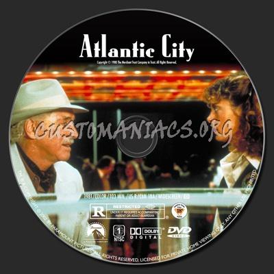 Atlantic City dvd label
