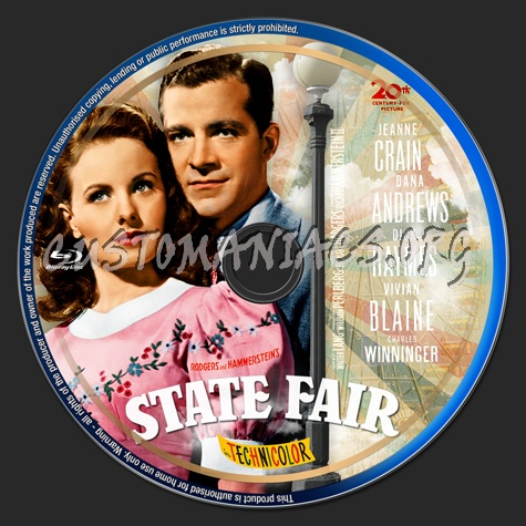 State Fair (1945) blu-ray label