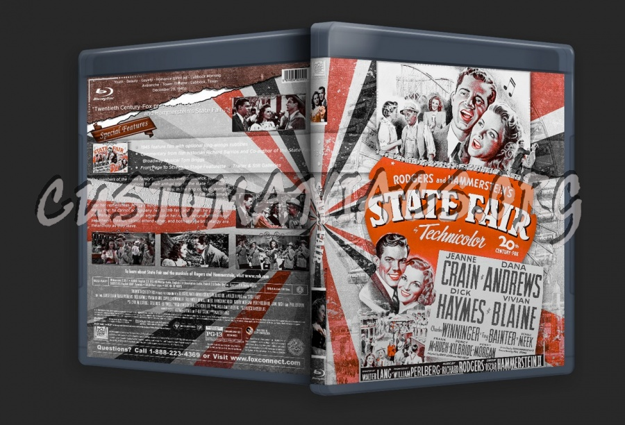 State Fair (1945) blu-ray cover