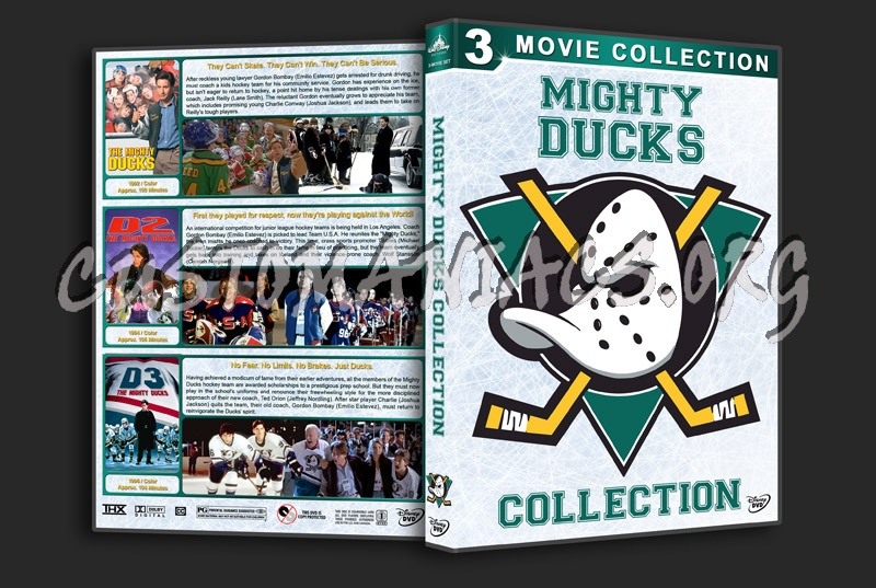 The Mighty Ducks Collection dvd cover
