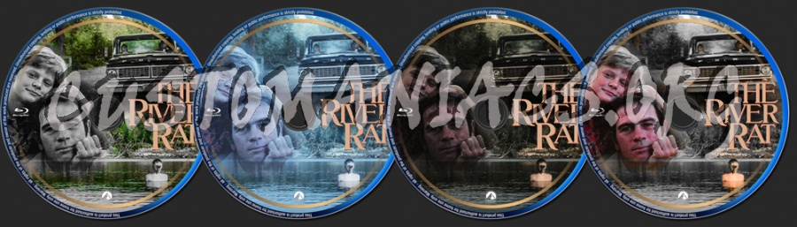 The River Rat (1984) blu-ray label