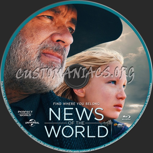 News Of The World blu-ray label