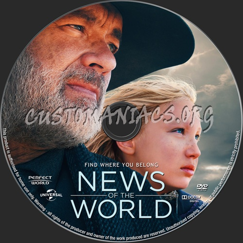News Of The World dvd label