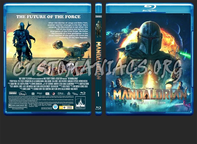 The Mandalorian Season 1 blu-ray cover