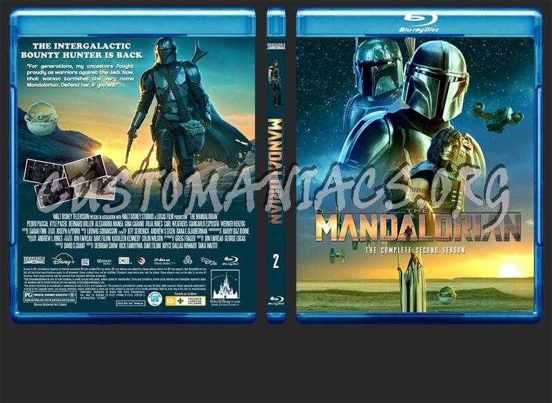 The Mandalorian Season 2 blu-ray cover