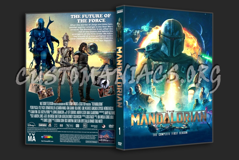 The Mandalorian Season 1 dvd cover