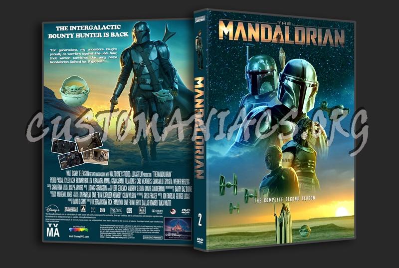 The Mandalorian Season 2 dvd cover