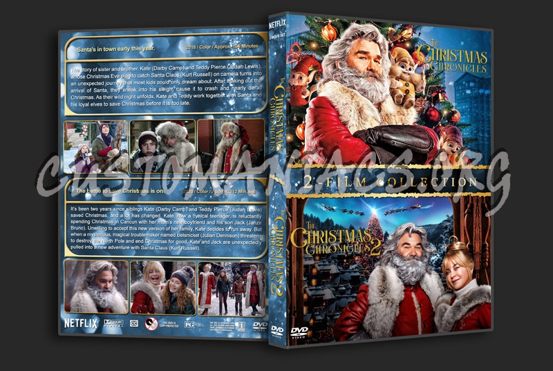 The Christmas Chronicles Double Feature dvd cover