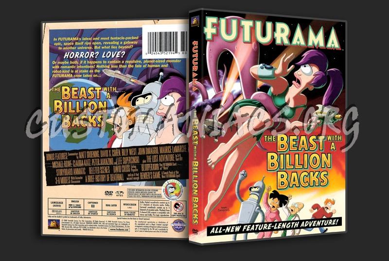 Futurama: The Beast with a Billion Backs dvd cover