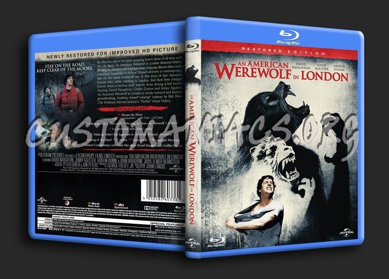 An American Werewolf in London blu-ray cover