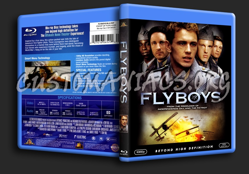 Flyboys blu-ray cover