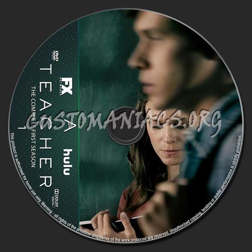 A Teacher Season 1 dvd label