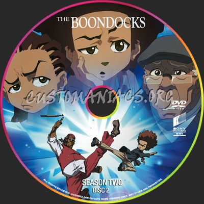 The boondocks season 2 dvd label dvd covers labels by customaniacs id 44307 free download - Boondocks season download ...