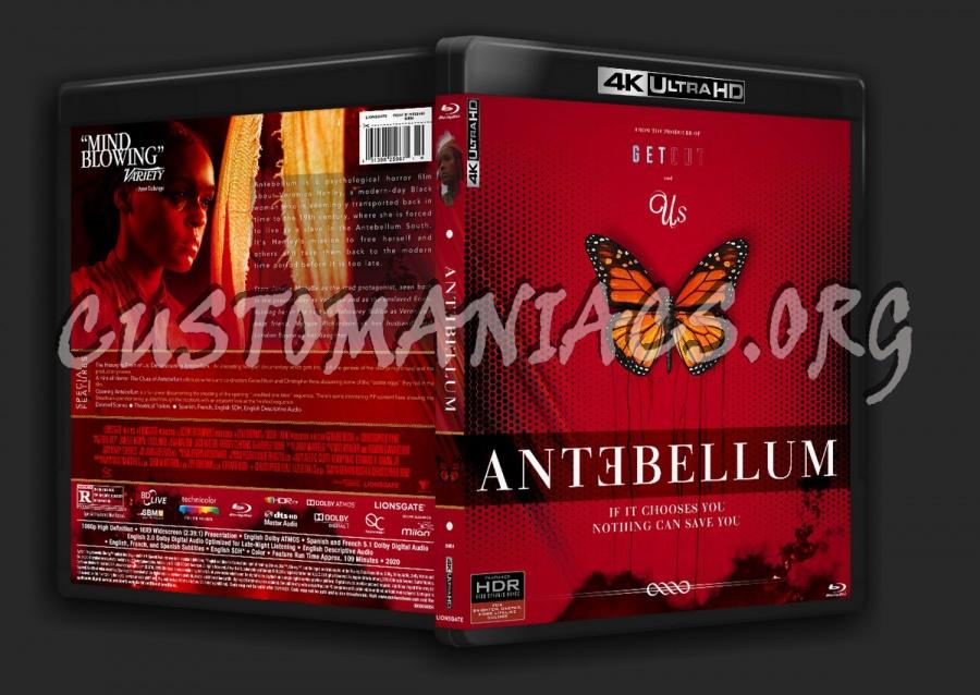 Antebellum (2020) - 4K dvd cover