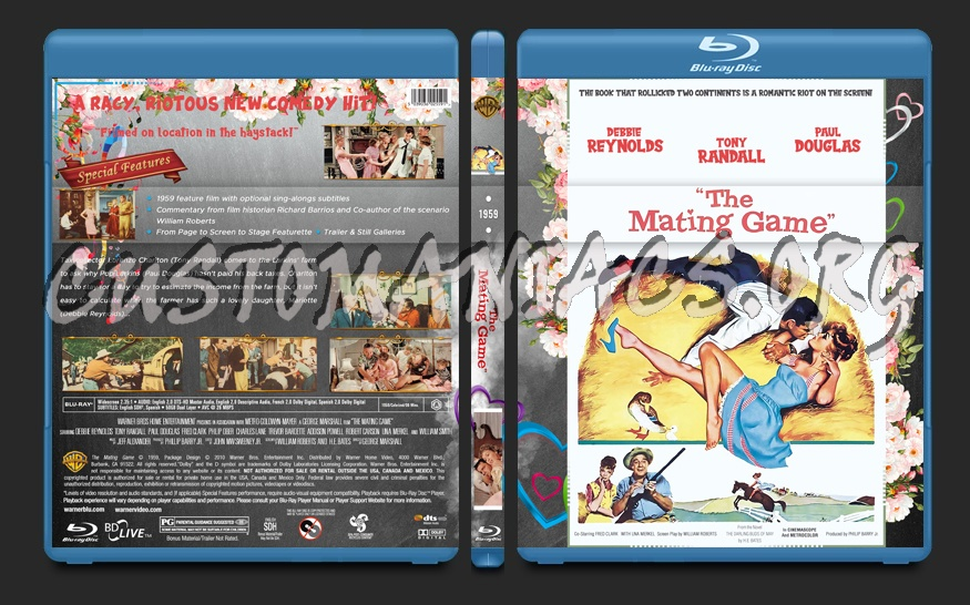 The Mating Game (1959) blu-ray cover