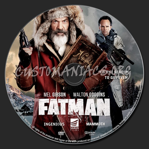 Fatman dvd label