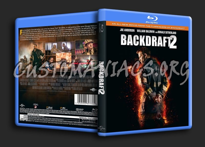Backdraft 2 blu-ray cover