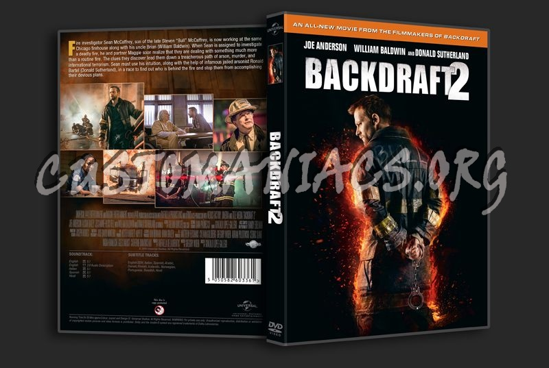 Backdraft 2 dvd cover