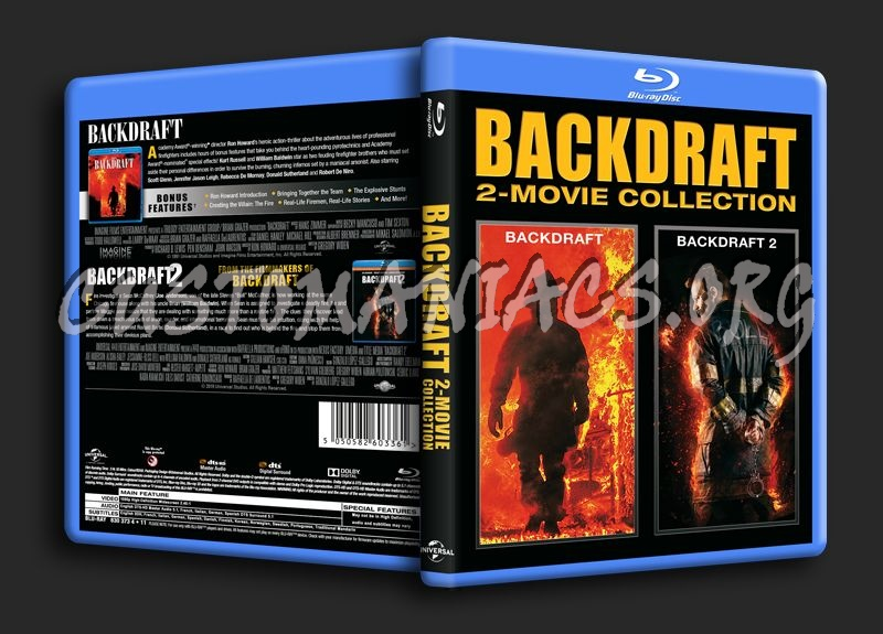 Backdraft 2-Movie Collection blu-ray cover