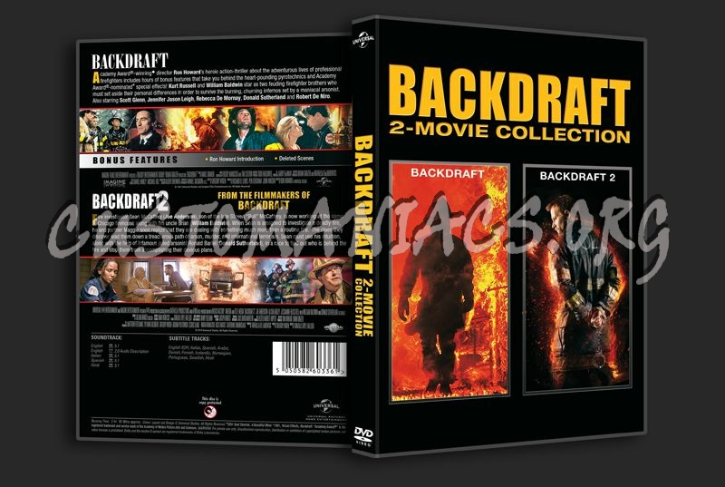 Backdraft 2-Movie Collection dvd cover