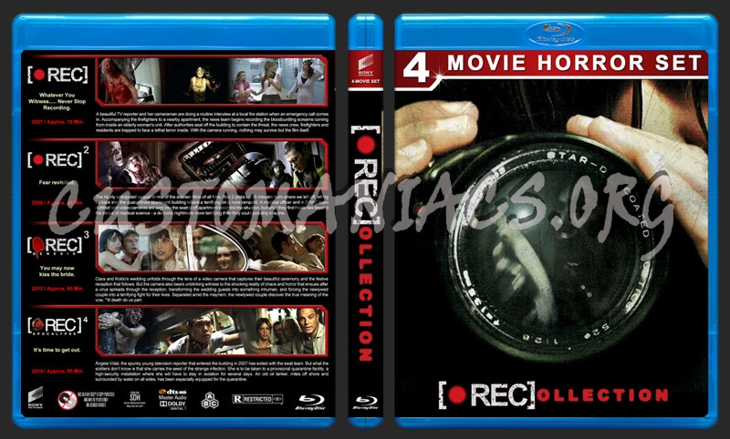 [•REC]ollection blu-ray cover