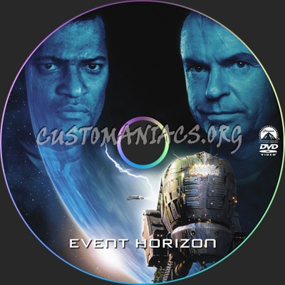 Event Horizon Dvd Label Dvd Covers Labels By Customaniacs Id