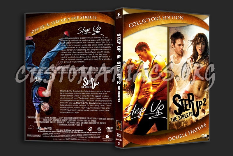Step Up and Step Up 2 The Streets dvd cover - DVD Covers ...