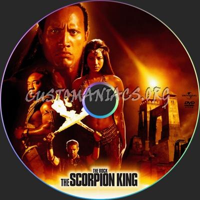 The Scorpion King dvd label