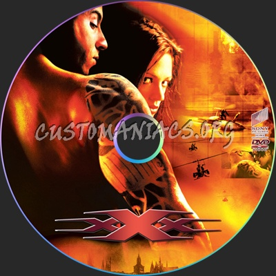 xXx - xXx 2 -State of the Union dvd label