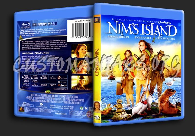 Nim's Island blu-ray cover