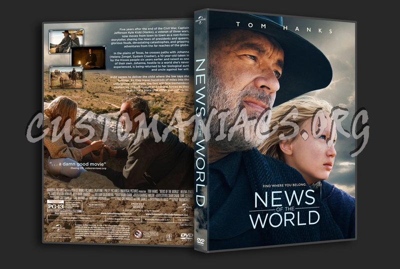 News Of The World dvd cover