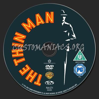 Thin Man, The dvd label