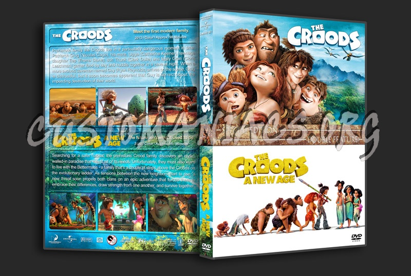 The Croods Double Feature dvd cover
