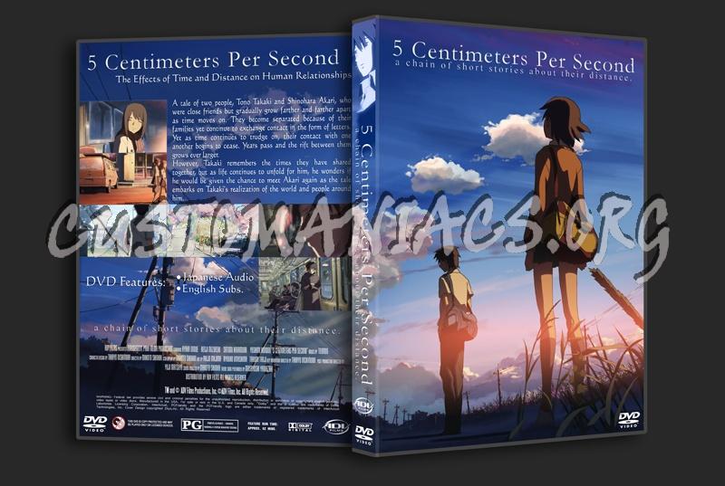 5 Centimeters Per Second Dvd Cover