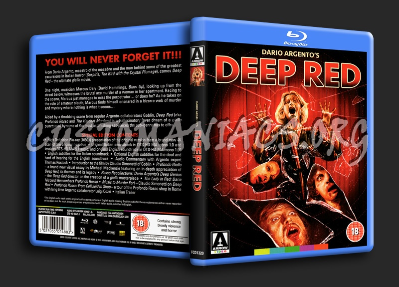 Deep Red blu-ray cover